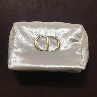 Dior - DIOR クリスマスポーチ ホワイト