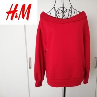 エイチアンドエム(H&M)の美品*H&Mトップス(トレーナー/スウェット)