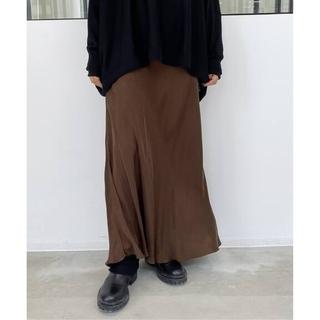 アパルトモンドゥーズィエムクラス(L'Appartement DEUXIEME CLASSE)の【SHAINA MOTE/シャイナモート】Cupro Flare スカート◇36(ロングスカート)