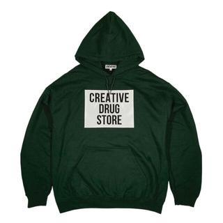 BEAMS - creative drug store パーカー xl