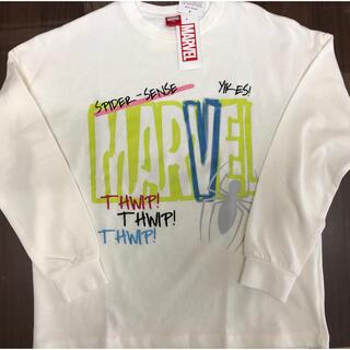 マーベル(MARVEL)の子供服 長袖カットソー MARVEL   新品(Tシャツ/カットソー)