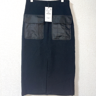 ZARA - zara  スカート ブラック S