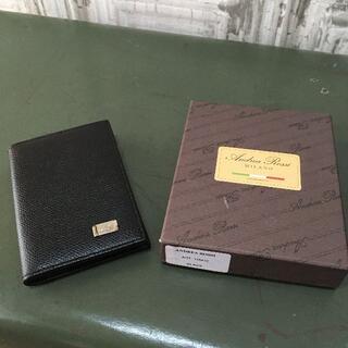 アンドレアロッシ(Andrea Rossi)のイタリア製  Andrea Rossi カードケース USED(名刺入れ/定期入れ)
