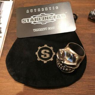 クロムハーツ(Chrome Hearts)のスターリンギア パンチャーリング美品 23号 大幅値下げ❗️(リング(指輪))