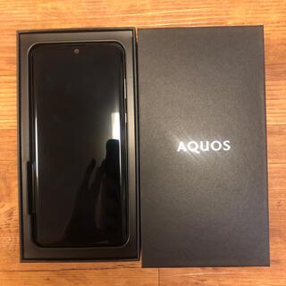 AQUOS - 【中古美品】AQUOS zero2 アストロブラック SIM解除済み