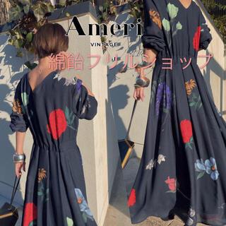 アメリヴィンテージ(Ameri VINTAGE)のAMERI vintage■新品■AMANDA DRESS(ロングワンピース/マキシワンピース)