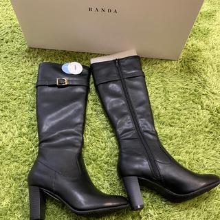 ランダ(RANDA)のRANDA ランダ ロングブーツ 晴雨兼用(ブーツ)