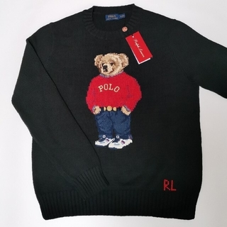 POLO RALPH LAUREN - Ralph Lauren ポロベア セーター レディース ブラック 国内正規品