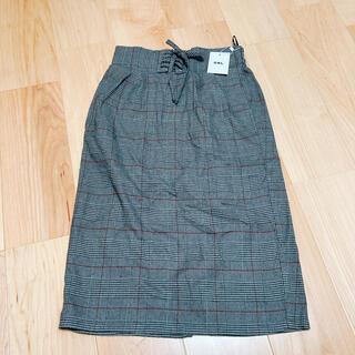 グレイル(GRL)の編み上げタイトスカート(ひざ丈スカート)