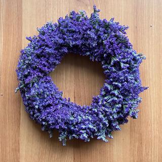 リース 紫(ドライフラワー)