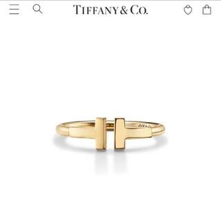 Tiffany & Co. - 正規品ティファニー 18k Tワイヤーリング