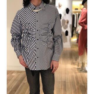 アレッジ(ALLEGE)のallege Gather Stripe Shirts(シャツ)