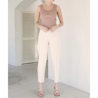 ALEXIA STAM - Arrow Pocket Slouchy Pants/ストレートデニムパンツ