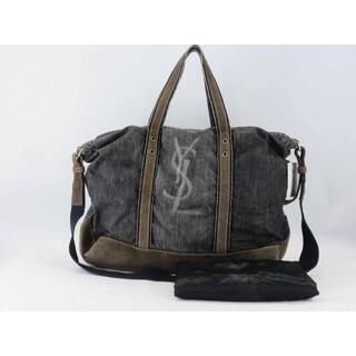 Yves Saint Laurent Beaute - イヴサンローラン リヴゴーシュ 2wayデニムトートバッグ ショルダーバッグ