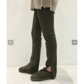 アパルトモンドゥーズィエムクラス(L'Appartement DEUXIEME CLASSE)のL'AppartementWool Zip Leggings(レギンス/スパッツ)