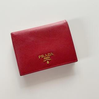 PRADA - PRADA サフィアーノメタル 折りたたみ財布