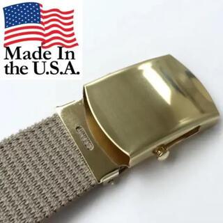 エンジニアードガーメンツ(Engineered Garments)の70's Deadstock Military Belt (ガチャベルト)(ベルト)