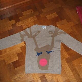 マルニ(Marni)のANTONI& ALISON カシミヤセーター トナカイ イギリス製(ニット/セーター)