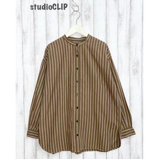 STUDIO CLIP - 【studio CLIP】ストライプブラウス シャツ スタディオクリップ