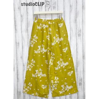 スタディオクリップ(STUDIO CLIP)の【studio CLIP】花柄パンツ スタディオクリップ(その他)
