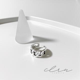 フィリップオーディベール(Philippe Audibert)の〝再販〟silver925 チェーン ロープ シルバーリング (リング(指輪))