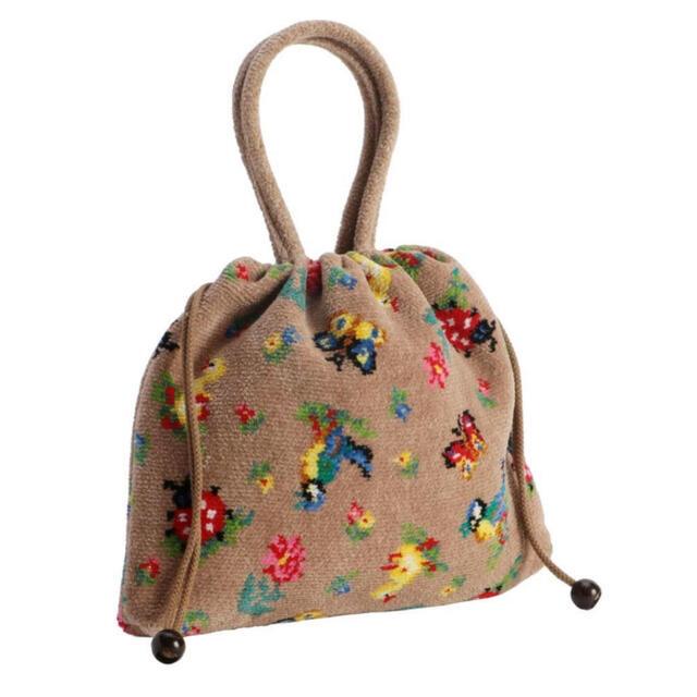 FEILER(フェイラー)のフェイラー ハイジ 手付き 巾着バッグ FEILER ★定価の3割引中★ レディースのバッグ(ハンドバッグ)の商品写真