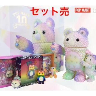 POP MART 10周年記念作品 GENERATIONS&可動式ピンバッチ(キャラクターグッズ)