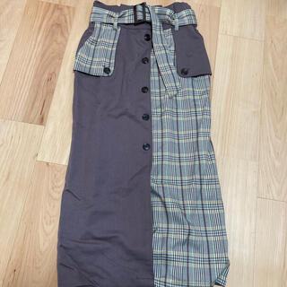 グレイル(GRL)のタイトスカート(ロングスカート)