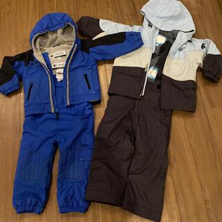 コロンビア(Columbia)のスキーウェア 100  2着セット(ジャケット/上着)
