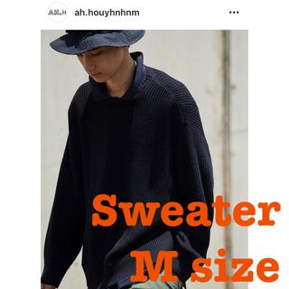 ビームス(BEAMS)のAH.H houyhnhnm Sweater M 長谷川昭雄 セーター SSZ(ニット/セーター)