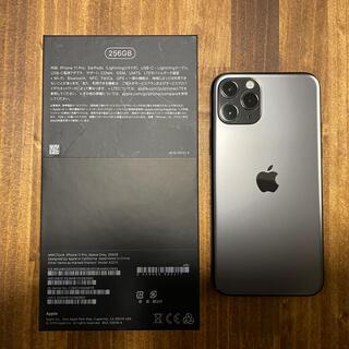 Apple - iPhone 11 pro 256gb SIMフリー スペースブラック