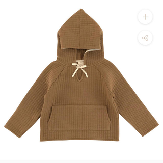 Caramel baby&child  - liilu quilted hoodie 2020aw 6y キルトパーカー
