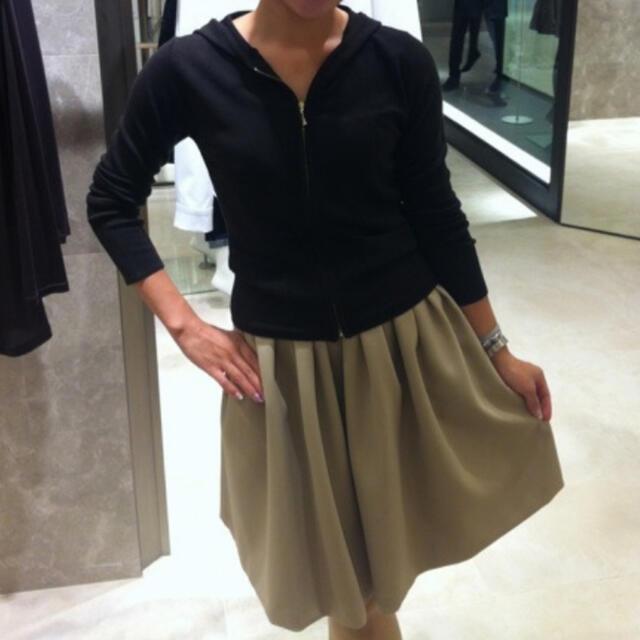 M-premier(エムプルミエ)の【未使用】M-premier couture フレアスカート 36 レディースのスカート(ひざ丈スカート)の商品写真