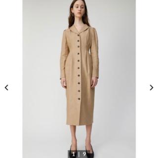 moussy - TUCK LONG SHIRT DRESS
