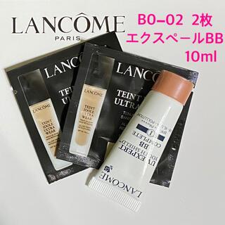 LANCOME - ランコム タンイドル  リキッド BO-02  & UV エクスペール BB
