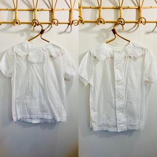 ビームス(BEAMS)のビームス 付け襟風ブラウス 半袖(シャツ/ブラウス(半袖/袖なし))