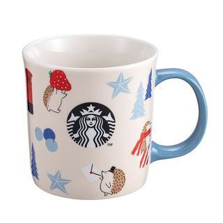 Starbucks Coffee - スターバックス:マグカップ ロゴ ハリネズミ 台湾 スタバ
