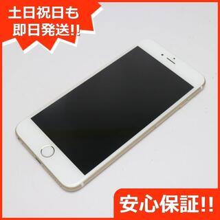 アイフォーン(iPhone)の美品 SIMフリー iPhone6 PLUS 64GB ゴールド (スマートフォン本体)
