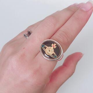 Vivienne Westwood - ☆良品☆サイズS、エナメルボタンリング、ヴィヴィアン