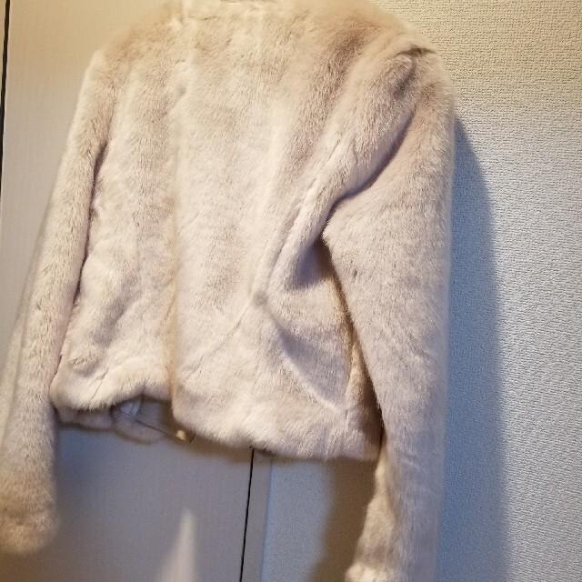 rienda(リエンダ)のrienda ファージャケット S レディースのジャケット/アウター(毛皮/ファーコート)の商品写真