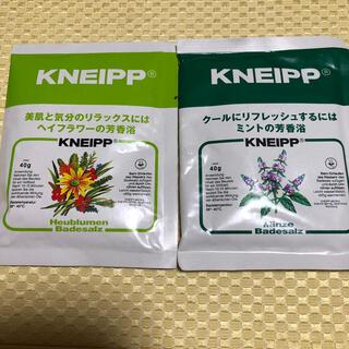 クナイスル(KNEISSL)のクナイプ バスソルト ヘイフラワーの香り ミントの香り 2袋(入浴剤/バスソルト)