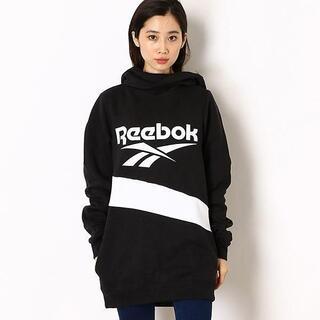 リーボック(Reebok)の【完売品】Reebok クラシックス  ロングパーカー ブラック XL(パーカー)