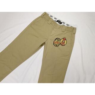 ディッキーズ(Dickies)のディッキーズ ドレスキャップ チノパン 刺繍ロゴ サイズ28 ウエスト約76㎝(チノパン)