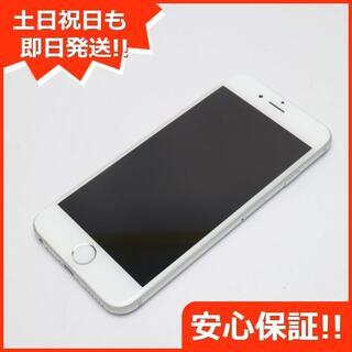 アイフォーン(iPhone)の美品 au iPhone6 16GB シルバー 白ロム(スマートフォン本体)