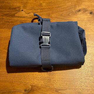 MUJI (無印良品) - 無印良品 吊るせるケース小物ポケット ネイビー