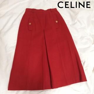 セリーヌ(celine)のCELINE セリーヌ スカート ヴィンテージ 古着(ひざ丈スカート)