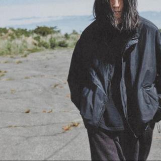 コモリ(COMOLI)のcomoli ナイロンショートジャケット サイズ3 20aw(ナイロンジャケット)