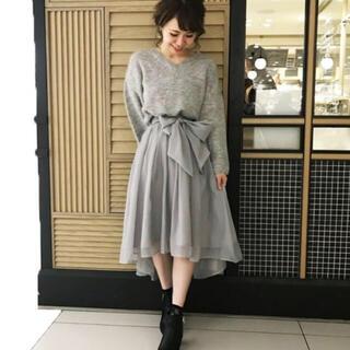 mysty woman - mysty woman*テールカットシフォンスカート♡スナイデル ミーア