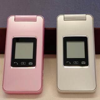 ソフトバンク(Softbank)のガラケー SHARP 108SH ソフトバンク 2台セット(携帯電話本体)