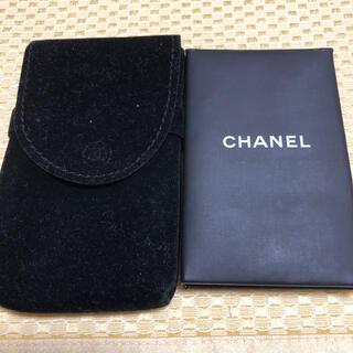 シャネル(CHANEL)のシャネル あぶら取り紙 鏡 ケース付き コントロールティッシュ(あぶらとり紙)